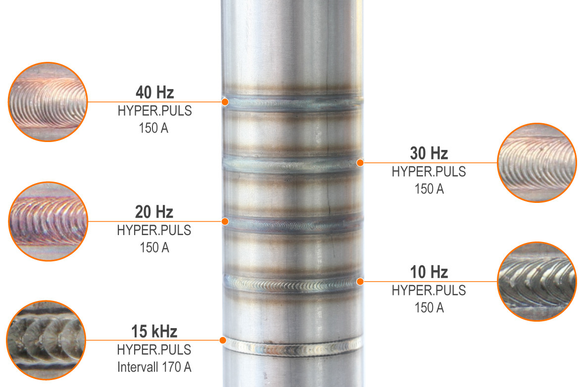 The REHM HYPER.PULS welding process with TIG DC welding