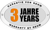 3 years warranty on all INVERTIG.PRO TIG welding machines